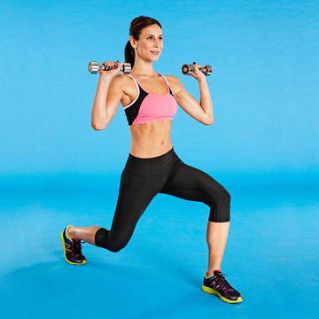 Burn Mega Calories: Double-Duty Toning Exercises