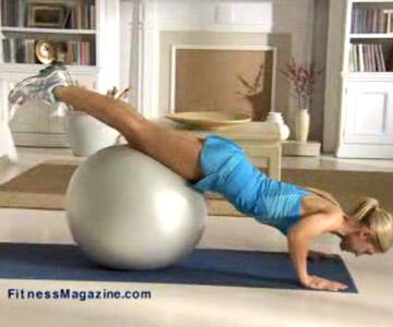 Our Top 8 Stability Ball Exercises