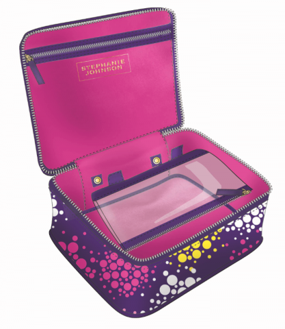 Get An Almost Free Stephanie Johnson Makeup Bag From