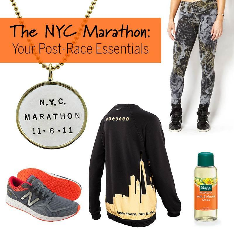 The NYC Marathon: Your Post-Race Essentials
