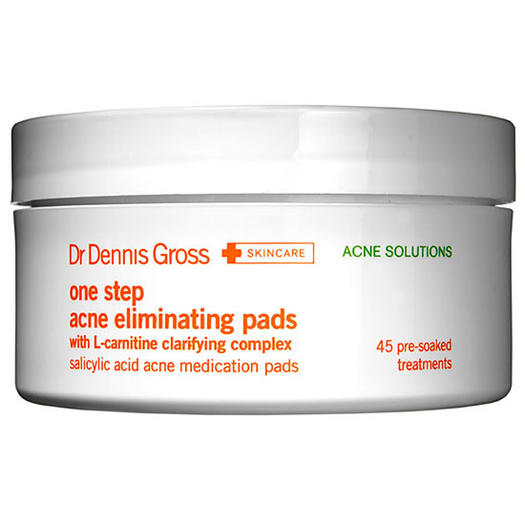 Dr. Dennis Gross Skincare One Step Acne Eliminating Pads