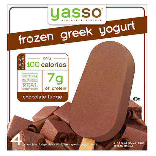 Yasso Chocolate Fudge Frozen Greek Yogurt Bar
