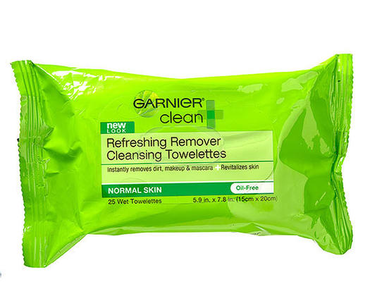 Garnier Clean + Refreshing Remover Cleansing Towelettes