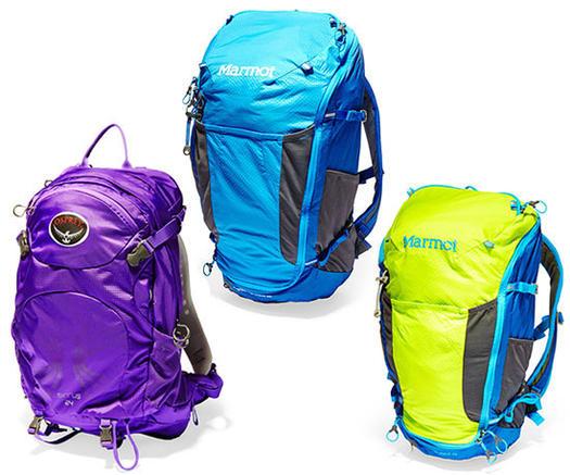 Hiking packs