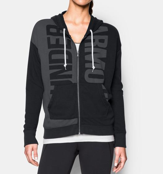 b72a7607d336 Under Armour Favorite French Terry Full Zip