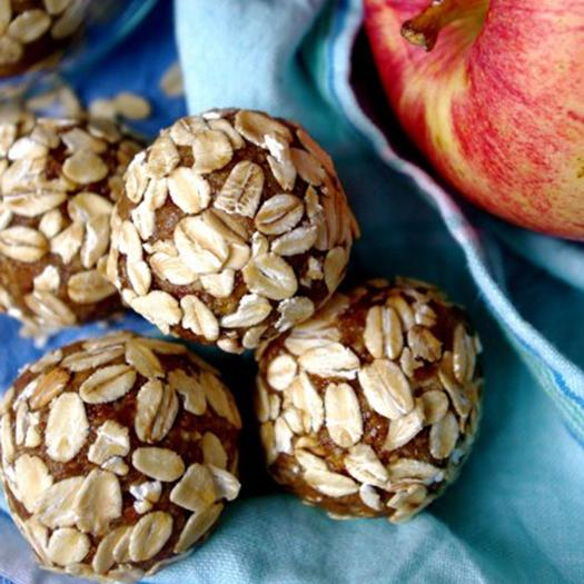 Apple Pie and Almond Butter Energy Balls