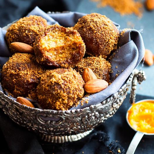 No-Bake Pumpkin Pie Balls