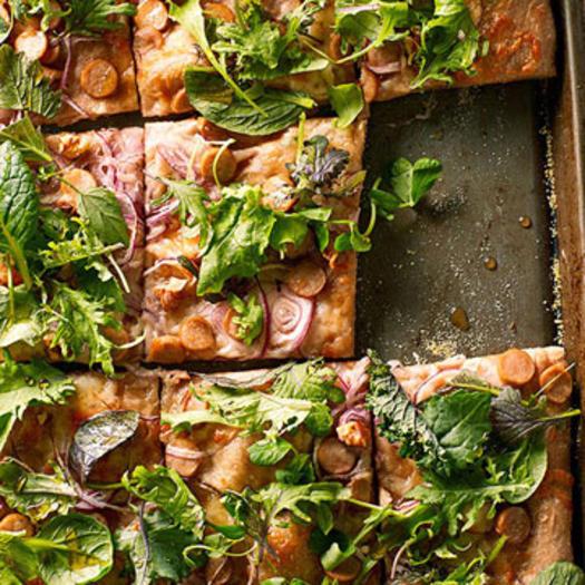 pizza recipes healthy pizza recipes fitness magazine