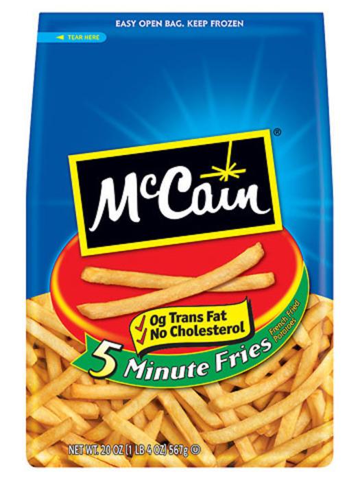 mccain 5 minute fries