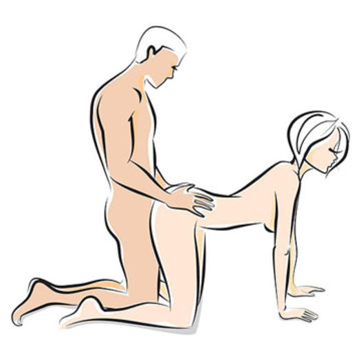 Man with big belly sex position
