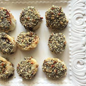 Banana hemp bites