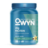 plant-based protein powder OWYN