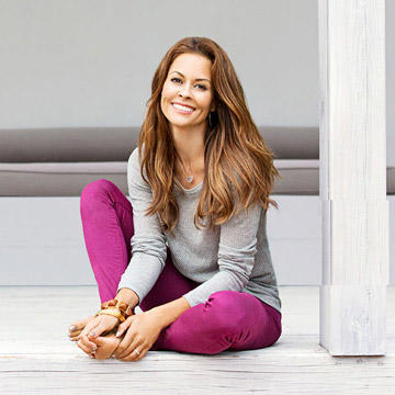 Brooke Burke's Fitness and Workout Tips   Fitness Magazine