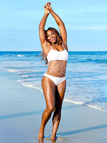 Tennis Star Serena Williams Workout And Body Confidence