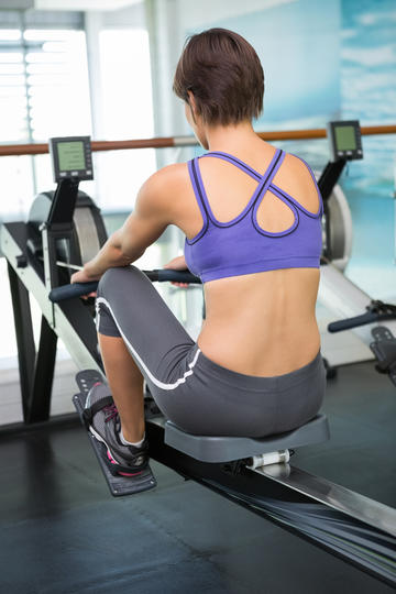 Row Away 300 Calories | Fitness Magazine