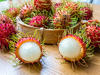 Rambutan healthy fruit