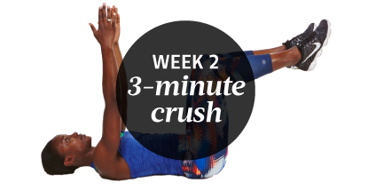 Week 2 Ab Challenge 3-Minute Workout