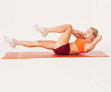 Flatter Abs In 2 Weeks Ab Workouts For Beginner